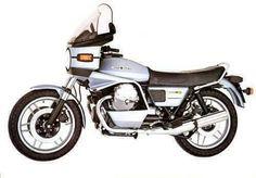 moto guzzi v 1000 sp 1981