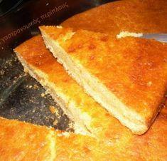 Τάρτα με γλυκιά μυζήθρα Κρήτης - cretangastronomy.gr Cornbread, Sweets, Ethnic Recipes, Food, Pies, Millet Bread, Gummi Candy, Candy, Essen