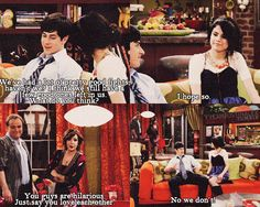 Wizards of Waverly Place●Alex and Justin Russo