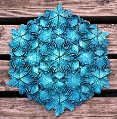 origami tessesations with curved tiles - Поиск в Google