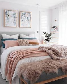 Image result for layered blankets bedroom