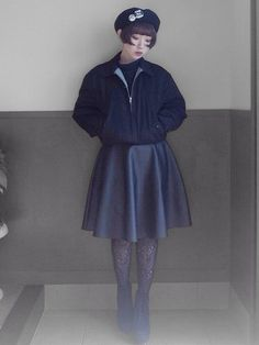 hazuki sawadaブルゾン「WEGO 」Styling looks