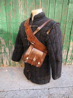 The Witcher Geralt of Rivia Belt Bag Baldric by PropCornShop US$204.97
