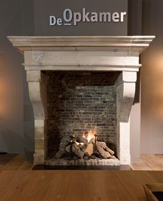 Lavoux Dore French Limestone Antique Fireplace from Netherlands – StoneContact.c…, – Farmhouse Fireplace Mantels French Country Fireplace, Farmhouse Fireplace Mantels, Limestone Fireplace, French Country Farmhouse, Home Fireplace, French Cottage, Fireplace Design, Fireplace Ideas, Brick Fireplaces
