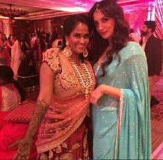 Arpita khan with sheema khan