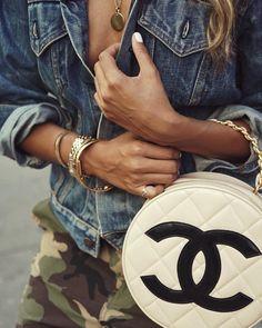 "JULIE SARIÑANA on Instagram: ""Everyday should be #Chanel day. @whatgoesaroundnyc """