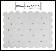 Lorena Canals ~ Lorena Canals ~ Gorgeous Galleta White Rug giveaway ends 3/10/2016