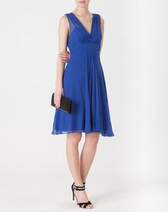 Robe bleue en soie Loulou - wedding outfit ?