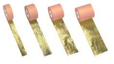 Gilding course:  8 - Imitation gold leaf in rolls