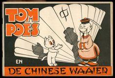 Heer Bommel en Tom Poes - Tom Poes en de chinese waaier - deel 10 - sc - (1948) - W.B.