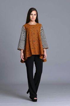 Batik Blazer, Blouse Batik, Batik Dress, Batik Fashion, Fashion Fabric, African Print Fashion, African Fashion Dresses, Kebaya Lace, Batik Art