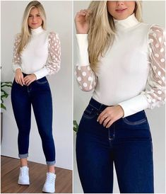 Girly Outfits, Cute Casual Outfits, Stylish Outfits, Teenager Outfits, Frock Fashion, Fall Fashion Outfits, Denim Fashion, Look Legging, Dress Sketches