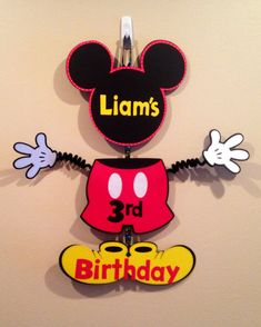 Items similar to Mickey Mouse Party Door Sign Birthday Wiggle Arm Custom Saying Cute Mickey Party Mickey Door Sign on Etsy Mickey Mouse Clubhouse Birthday, Mickey Mouse Parties, Mickey Party, Mickey Mouse Birthday, 1st Birthday Parties, 3rd Birthday, Birthday Door, Elmo Party, Christmas Door Decorations