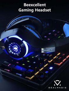 0152e8515c3 Beexcellent Gaming Headphones #dealmagicsa Beats Headphones, Gaming  Headphones, Gaming Headset, Surround Sound