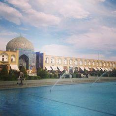 Isfahan | اصفهان in Isfahan Iran Traveling Center http://irantravelingcenter.com #iran #travel #traveltoiran