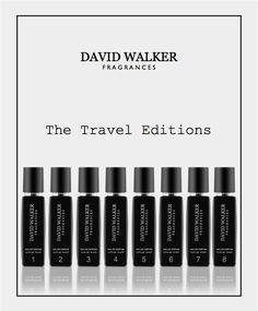 david walker fragrances travel set