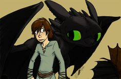 :HTTYD: A boy and his dragon by RegentShaw.deviantart.com on @deviantART