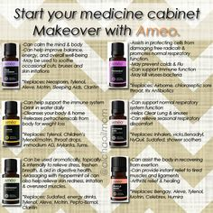 Start replacing your OTC meds with some natural solutions! Ameo oils! Order at: www.susanfreeland.myameo.com