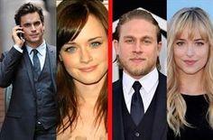 Oleada violenta contra el casting de '50 sombras de Grey': Los fans quieren a Matt Bomer y Alexis Bledel