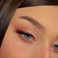Edgy Makeup, Makeup Eye Looks, Eye Makeup Art, Natural Makeup Looks, Cute Makeup, Pretty Makeup, Skin Makeup, Makeup Tips, Soft Eye Makeup