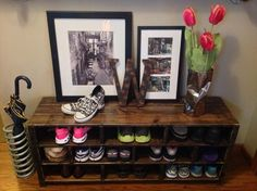 DIY Pallet Shoe Rack are quite simple to construct as nicely however it's best that you have to commit a beneficent amount of time.