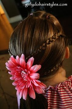 Flips and Braids into a Ponytail from Girly Do Hairstyles