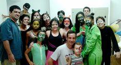 Peça infantil PLOC da Cia de Teatro Araticum, Paraguaçu,MG