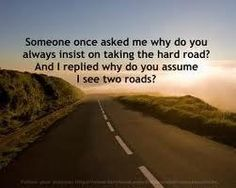 Exactly. Moving forward on a One Way street...