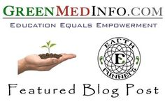 """Our blog """"Come To Your Senses Through Grounding"""" got selected on www.GreenMedInfo.com. GMI provides free, convenient access to current biomedical research on therapeutic values of natural substances in disease prevention and treatment."""