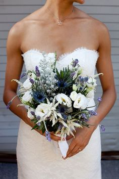 I'm planning on a feb. wedding since its technically winter and I love blue I think that's the color I'm going with.