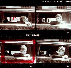 "dearfawndoe: ""Audrey Hepburn photo outtakes contact sheet by Dennis Stock, New York, "" Audrey Hepburn Photos, Screen Test, Roman Holiday, Fair Lady, Dennis Stock, Contact Sheet, Nostalgia, The Past, York"