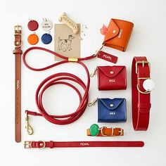 Italian Leather Business Bag #makeyourmark-Orange for Miss Rosie!