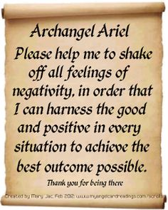 Send a Prayer to the Archangels - It's FREE to do -  by CLICKING HERE  ➡