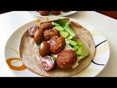 Εύκολοι και νόστιμοι ρεβιθοκεφτέδες!!! - YouTube Greek Recipes, Baked Potato, Appetizers, Mexican, Ethnic Recipes, Food, Youtube, Appetizer, Essen