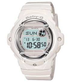 Baby-G Shock Watches Very cool these G Shocks, Baby G Shock Watches, Sport Watches, Cool Watches, White Watches, Women's Watches, Ladies Watches, G Watch, Casio Watch, White Whale