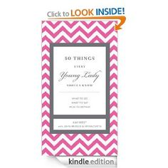 Amazon.com: 50 Things Every Young Lady Should Know eBook: Kay West: Kindle Store
