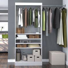 "Pur 35.8"" Wide Closet System"