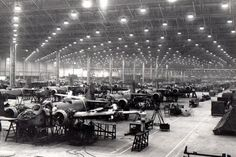 Bristol car factory -During WW2 Aircraft Production