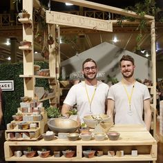 """Andy and Paul from @made_by_flint with their impressive debut stall set up! : @marklobo #thefinderskeepers #melbournefinderskeepers"""