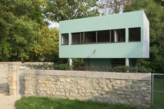 https://flic.kr/p/DCK2zJ | Villa Savoye | Gardener's house