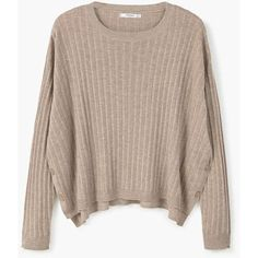 Decorative Button Sweater (230 MXN) ❤ liked on Polyvore featuring tops, sweaters, sweatshirts, shirts, brown top, cable-knit sweater, shirt top, brown cable knit sweater and brown knit sweater