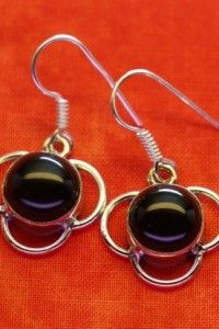 Black Onyx Earrings - Sold
