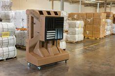 Enfriador Evaporativo - Port-A-Cool: Evaporativo portátil climatización de naves indust...