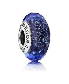 Pandora Christmas Iridescent Blue Faceted Online (2224PCH)