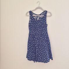 Anthropologie polka dot dress Good condition, no major flaws. Anthropologie Dresses