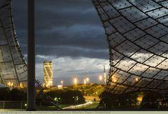 Olympiazentrum, München, Bayern, Deutschland