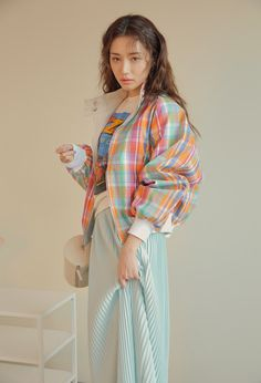Korean Outfits, Retro Outfits, Trendy Outfits, Girl Outfits, Cute Outfits, Fashion Outfits, Korea Fashion, Fashion 2020, Fashion Brands