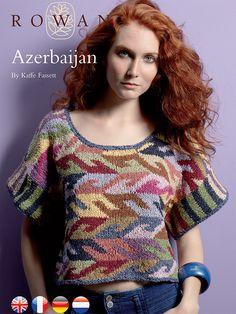 Ravelry: Azerbaijan by Kaffe Fassett great design for a hooked rug