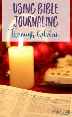 Have you ever thought about Bible Journaling through Advent? Using the illustrated faith Advent kit from Dayspring makes it easy! Here's a sneak peak along with a Journal Through Advent study! Bible Verses About Strength, Bible Verses About Love, Bible Verses Quotes, Advent Scripture, Scripture Study, Bible Journaling For Beginners, Christian Living, Christian Women, Bible Study Tools