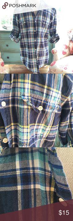 SALE!! Express Men's Shirt Mens Plaid shirt by Express. Size Medium, EUC! Shirts Casual Button Down Shirts